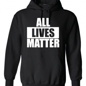 All Lives Matter - Black Hoodie
