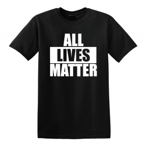 All Lives Matter - Black T-Shirt