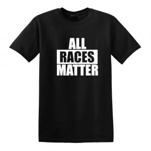 All Races Matter - Black T-Shirt