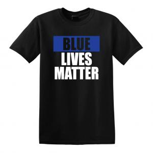 Blue Lives Matter - Black, T-Shirt