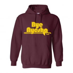 Cleveland Cavaliers bye ayesha maroon hoodie