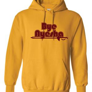 Cleveland Cavaliers bye ayesha yellow hoodie