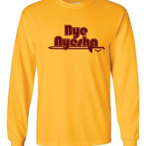 Cleveland Cavaliers bye ayesha yellow long sleeved shirt