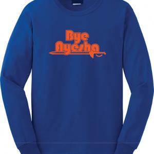 Bye Ayesha - Cleveland Cavs 2016, Royal Blue, Long Sleeved