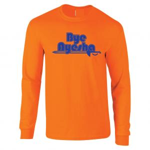 Bye Ayesha - Cleveland Cavs 2016, Orange, Long Sleeved