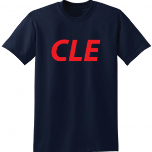 CLE - Navy, T-Shirt
