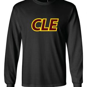 CLE - Black, Long Sleeved