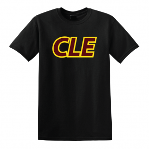 CLE - Black, T-Shirt