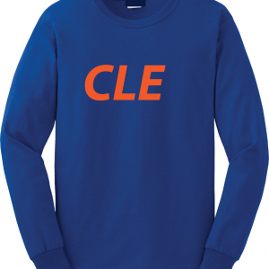 CLE - Royal Blue, Long Sleeved