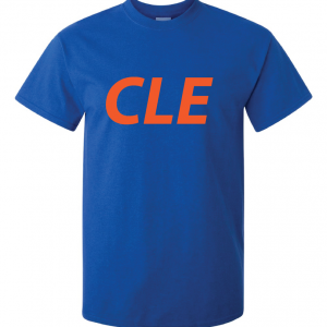 CLE - Royal Blue, T-Shirt