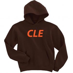 CLE - Brown, Hoodie