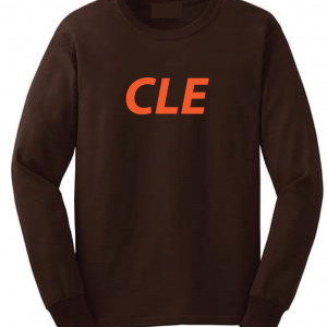 CLE - Brown, Long Sleeved