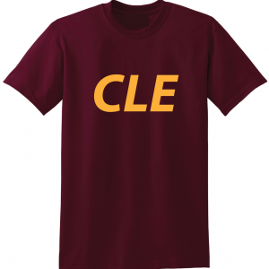 CLE - Maroon, T-Shirt