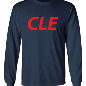 CLE - Navy, Long Sleeved