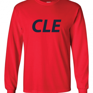 CLE - Red, T-Shirt