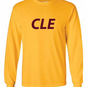 CLE - Yellow,Long Sleeved
