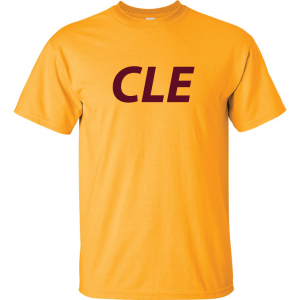 CLE - Yellow, T-Shirt