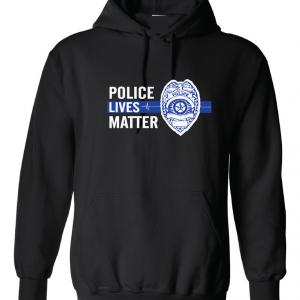 Police Lives Matter - Black, Hoodie
