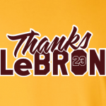 thanks lebron yellow