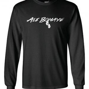 Ali Bomaye - Muhammad Ali, Black, Long Sleeved
