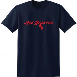 Ali Bomaye - Muhammad Ali, Navy, T-Shirt