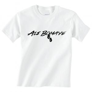 Ali Bomaye - Muhammad Ali, White, T-Shirt