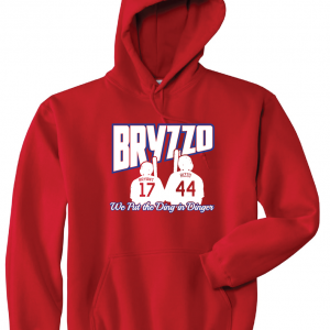 Bryzzo - Chicago Cubs, Red, Hoodie