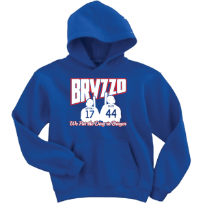Bryzzo - Chicago Cubs, Royal Blue, Hoodie