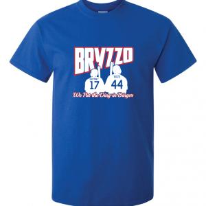 Bryzzo - Chicago Cubs, Royal Blue, T-Shirt