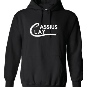 Cassius Clay, Black, Hoodie