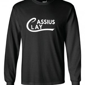 Cassius Clay, Black, Long Sleeved