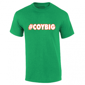 #COYBIG - Ireland Soccer (Come On You Boys In Green), Green, T-Shirt