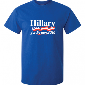 Hillary for President 2016, Blue, T-Shirt