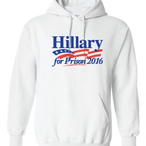 Hillary for President 2016, White, Hoodie