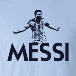 Messi - Argentina Soccer, Hoodie, Long Sleeved, T-Shirt