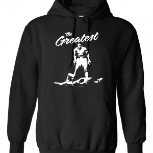 The Greatest - Muhammad Ali, Black, Hoodie