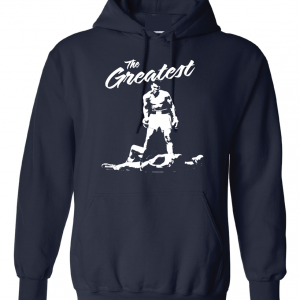 The Greatest - Muhammad Ali, Navy, Hoodie
