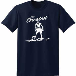 The Greatest - Muhammad Ali, Navy, T-Shirt