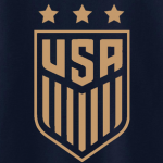 USA Men's Soccer Crest, Hoodie, Long Sleeved, T-Shirt