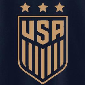 USA Men's Soccer Crest, Hoodie, Long Sleeved, T-Shirt