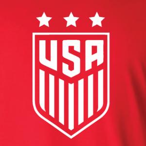 USA Women's Soccer Crest, Hoodie, Long Sleeved, T-Shirt