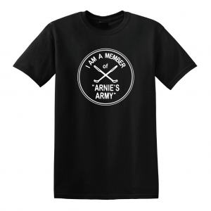I Am a Member of Arnie's Army - Arnold Palmer, Black, T-Shirt
