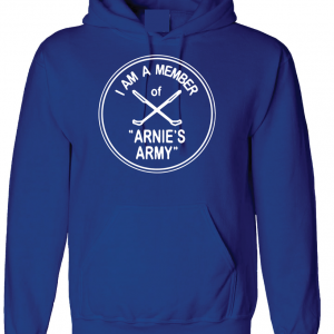 I Am a Member of Arnie's Army - Arnold Palmer, Royal Blue, Hoodie