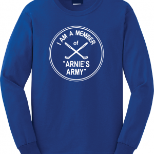 I Am a Member of Arnie's Army - Arnold Palmer, Royal Blue, Long Sleeved