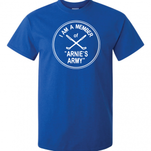 I Am a Member of Arnie's Army - Arnold Palmer, Royal Blue, T-Shirt