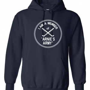 I Am a Member of Arnie's Army - Arnold Palmer, Navy, Hoodie