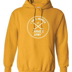I Am a Member of Arnie's Army - Arnold Palmer, Yellow, Hoodie