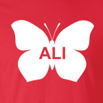 Ali -Butterfly - Muhammad Ali, Hoodie, Long Sleeved, T-Shirt
