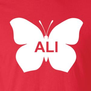 Ali -Butterfly - Muhammad Ali, Hoodie, Long Sleeved, T-Shirt