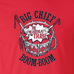 Big Chief Boom - Cleveland Indians, Hoodie, Sweatshirt, Long Sleeved, T-Shirt